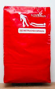 opberghoes voor het evacuatie matras