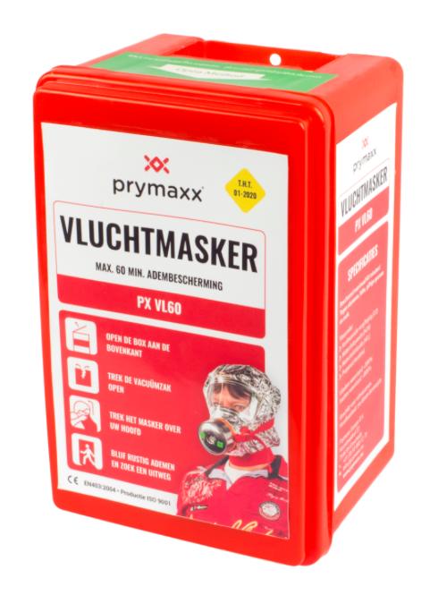 Prymaxx vluchtmasker