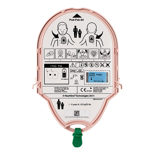 Heartsine Samaritan batterij en kinderelektroden