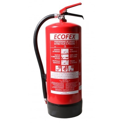 ECOFEX poederblusser 9 kilo (ABC)