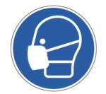 Desinfectie - Mondkapjes